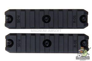 ARES Amoeba 3.5 inch Plastic Key Rail System for M-Lok System (2pcs / Pack)