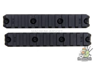 ARES Amoeba 5 inch Plastic Key Rail System for M-Lok System (2pcs / Pack)