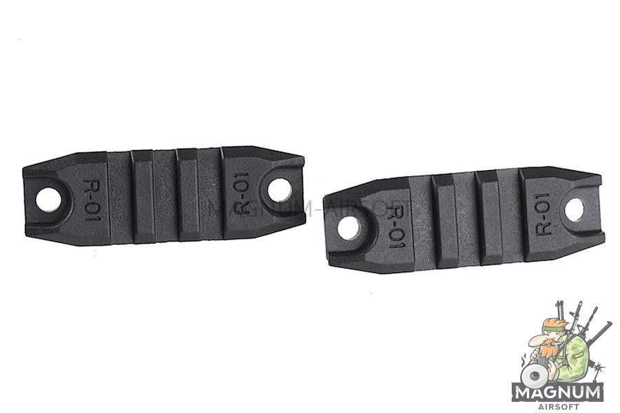 ARES M4 Rail Set (R-01 X 2 / R-02 X 1 / R-03 X 1) - BK