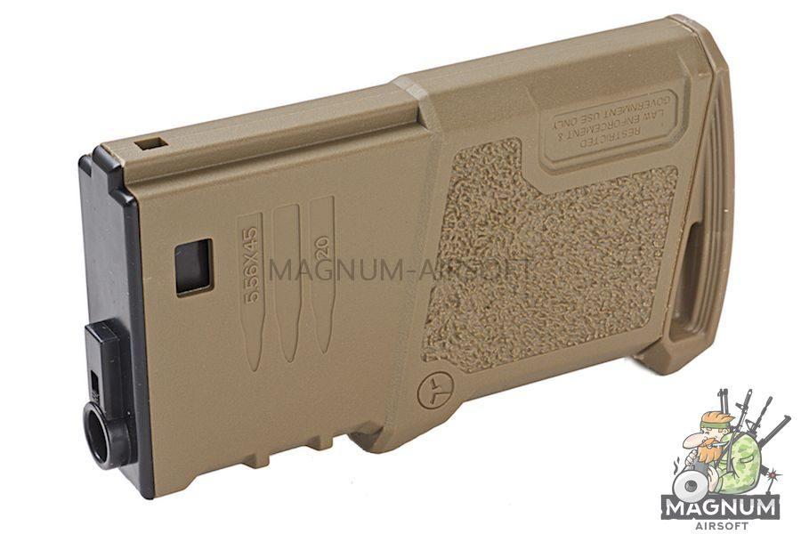ARES Amoeba 120 rds Short Magazines for M4 / M16 AEG - DE