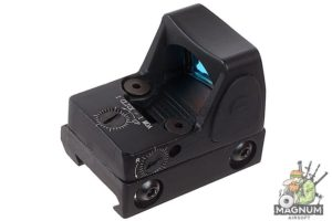 AIM Adjustable LED RMR Red Dot - Black