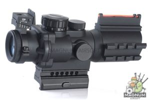 AIM Sniper LT 4X32 Red/Green Dot - BK