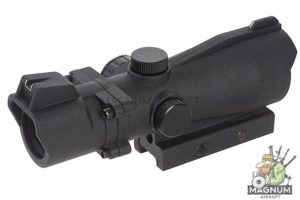 AIM 2X42 Red / Green Dot with 2X Magnification - BK