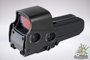 AIM 558 Red / Green Dot - BK