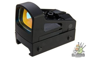 AIM RMS Reflex Mini Red Dot Sight With Vented Mount and Spacers - Black
