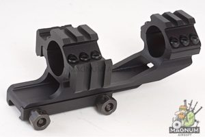 AIM Tri-Side Rail Extend 25.4mm Ring Mount Type 1 - BK