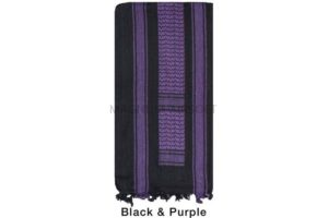 АРАФАТКА Tactical Shemagh Black/Purple Color код DAGGER DI-9011
