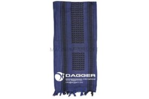 АРАФАТКА Tactical Shemagh Cobalt Blue/Black код DAGGER DI-9019