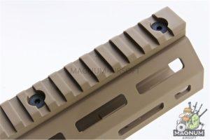 ARES Amoeba CNC M-Lok Handguard for Amoeba STRIKER Series - Dark Earth