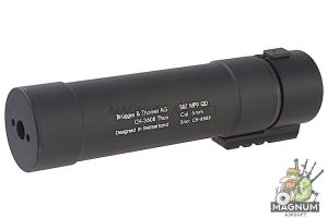 ASG MP9 QD Barrel Extension Tube - 205mm Length (Licensed by B&T)