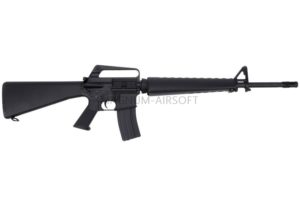 АВТОМАТ ПНЕВМ. CYMA M16A1 Vietnam Version, металл, черн.пластик, ЗУ, АКБ - CM009A1