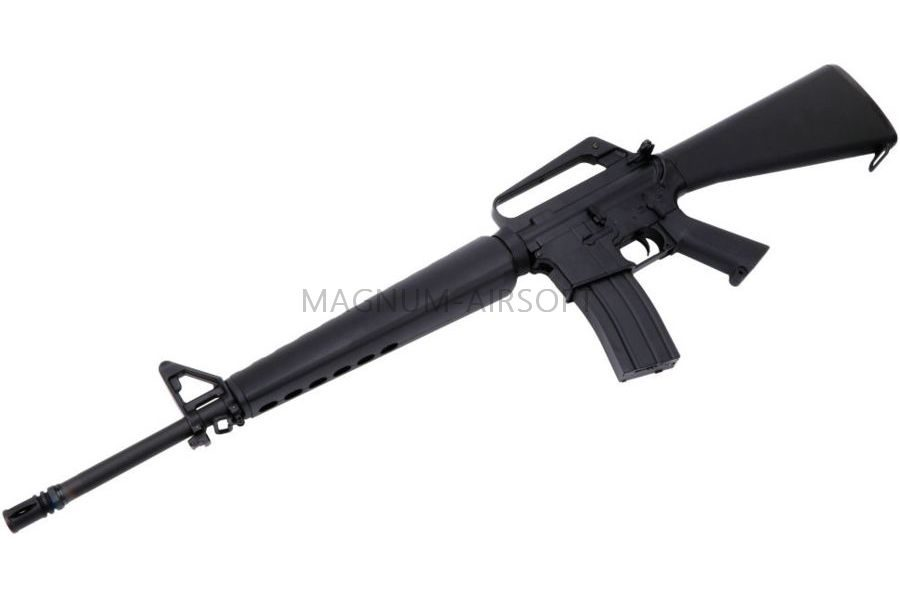 АВТОМАТ ПНЕВМ. CYMA M16A1 Vietnam Version, металл, черн.пластик, ЗУ, АКБ - CM009A1