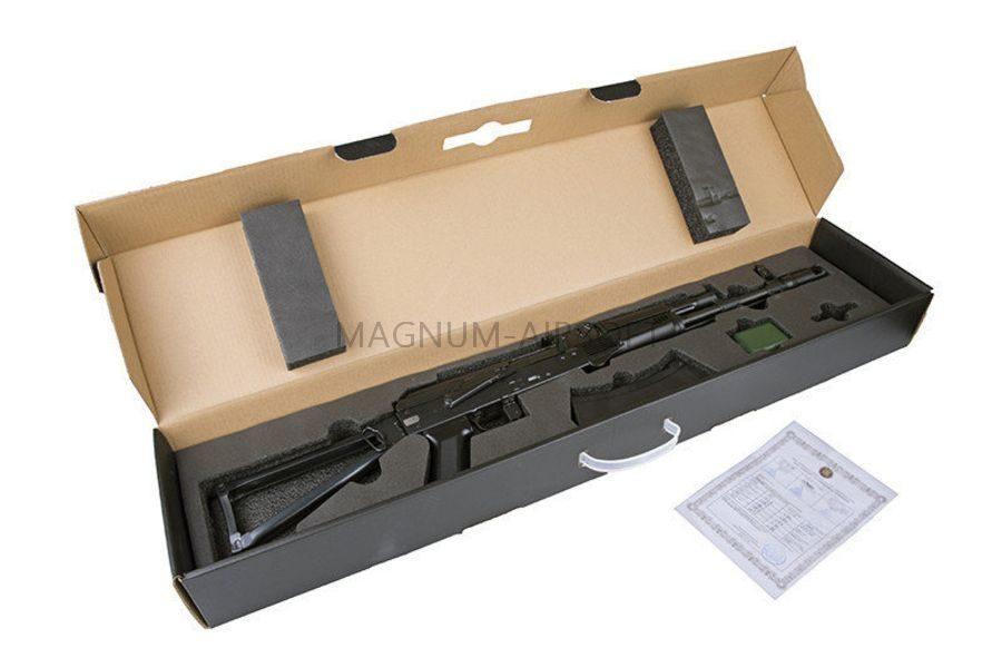 АВТОМАТ ПНЕВМ. E&L ELAK701 Tactial MOD A AEG  Steel - Platinum EL-A107-C