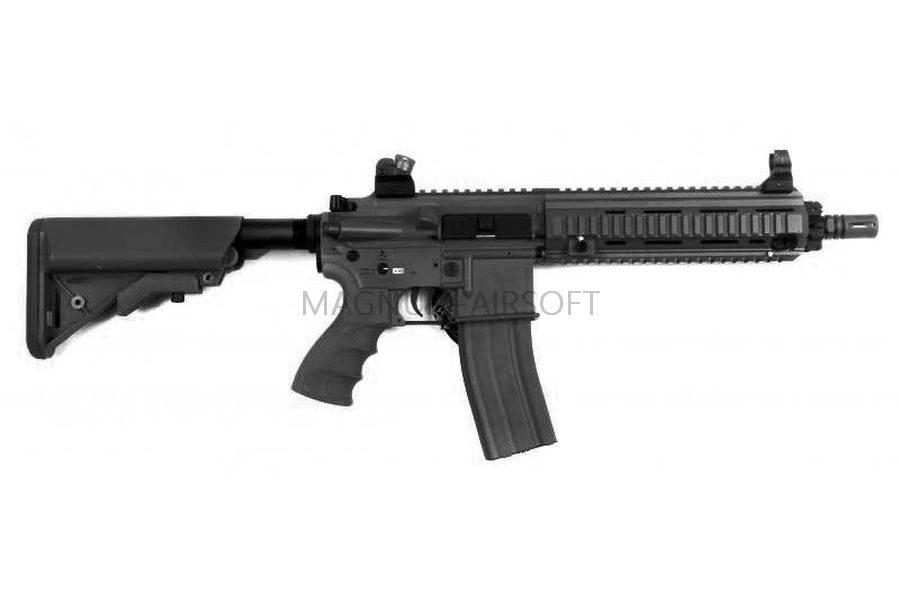 АВТОМАТ G&G HK416 Light Black no blowback T4-18 (130-140 m/s) TGR-418-SHT-BBB-NCM