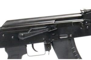 АВТОМАТ ПНЕВМ. G&G RK-103 EVO CRANE AEG, (140-150m/s) пластик, черный, модель - TGK-103-EVC-BBB-NCM