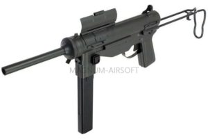 "АВТОМАТ M3A1 ""Grease gun"" SNOW WOLF AEG, металл, SW-06-02"