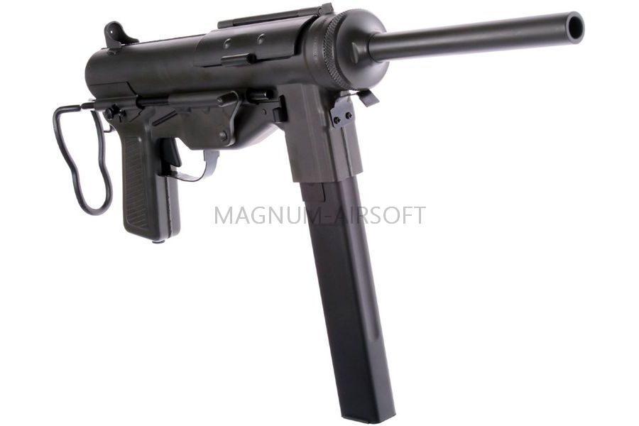 "АВТОМАТ M3A2 ""Grease gun"" SNOW WOLF AEG, металл, SW-06-01"
