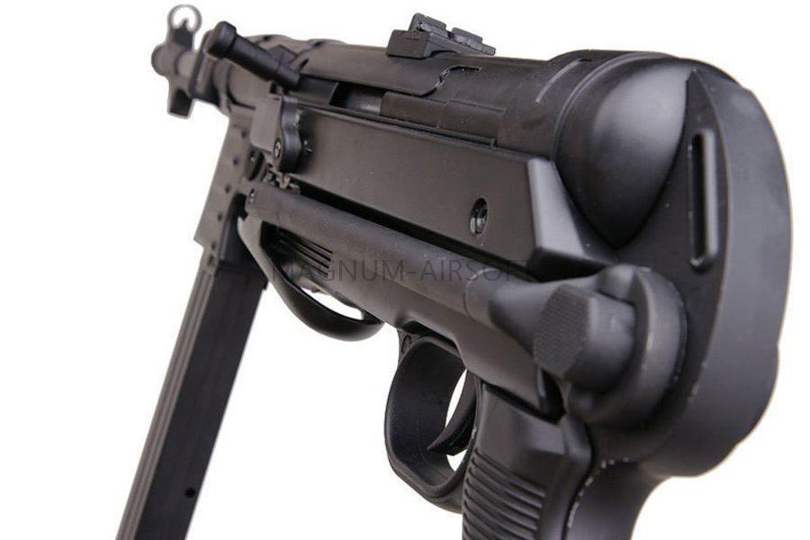 Автомат MP-40 AGM, AEG, черный пластик - MP007 black