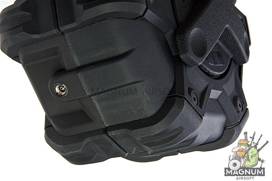 AW Custom 350rds Adaptive Drum Magazine for AW/ WE/ Tokyo Marui HI-Capa GBB Series - Black