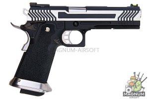 AW Custom HX11 Series Full Metal Gas Blowback Pistol - Two Tone