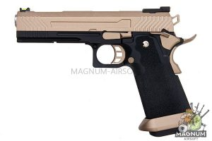 AW Custom HX11 Series Full Metal Gas Blowback Pistol - FDE