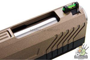 AW Custom HX11 Series Full Metal Gas Blowback Pistol - FDE