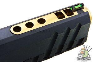 AW Custom HX20 Series 'Competitor' Hi-Capa Gas Blowback Pistol - Black / Gold