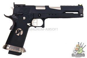 AW Custom HX22 Series Gold Standard IPSC Gas Blowback Pistol - Black