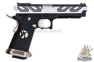 AW Custom HX23 Series Hi-Capa Gas Blowback Pistol - Two Tone