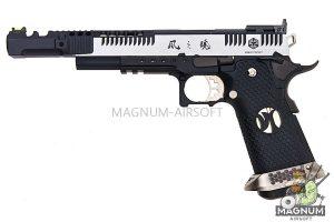 AW Custom HX24 Series 'Wind Velocity' IPSC Gas Blowback Pistol - Two Tone