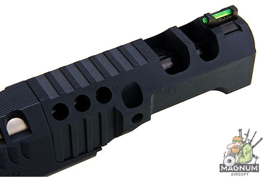 AW Custom HX24 Series 'Wind Velocity' IPSC Gas Blowback Pistol - Black