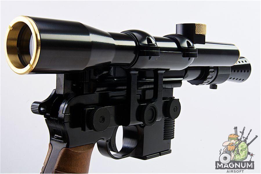 AW Custom M712 Star Wars Style w/ Scope & Flash Hider GBB Pistol