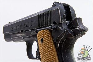AW Custom NE20 Series Full Metal Custom 'Molon Labe' 1911A1 Gas Blowback Pistol - Desert Grip