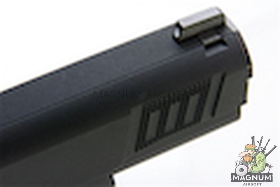 AW Custom Iconic 1911 Gas Blowback Pistol - Black