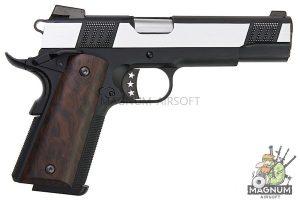 AW Custom Iconic 1911  Gas Blowback Pistol - 2 Tone