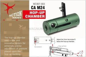 Action Army B07-003 CA M24 LTR Hop-up chamber