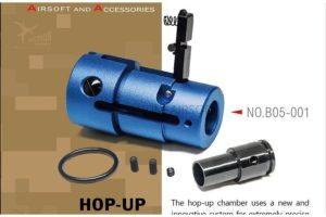 Action Army hopUP chamber for ARES Striker s1