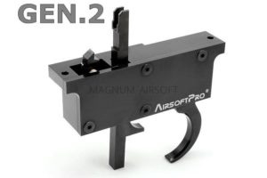 AirsoftPRO CNC TRIGGER SET FOR L96 RIFLES MB01,04,05,08,14..., GEN.2