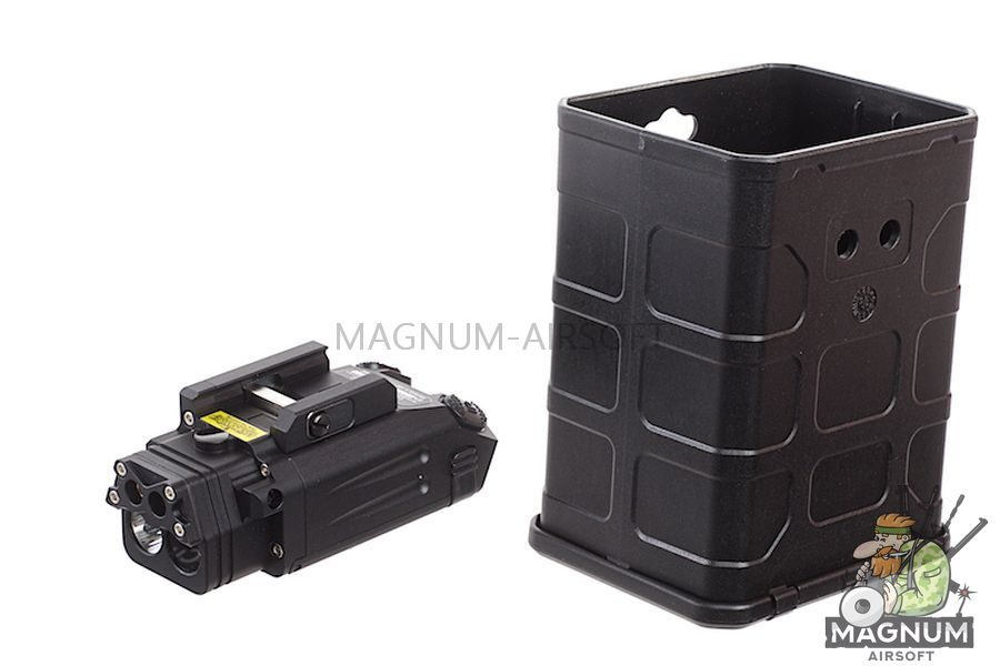 Blackcat Airsoft Tactical Flashlight for 20mm Rail - Black