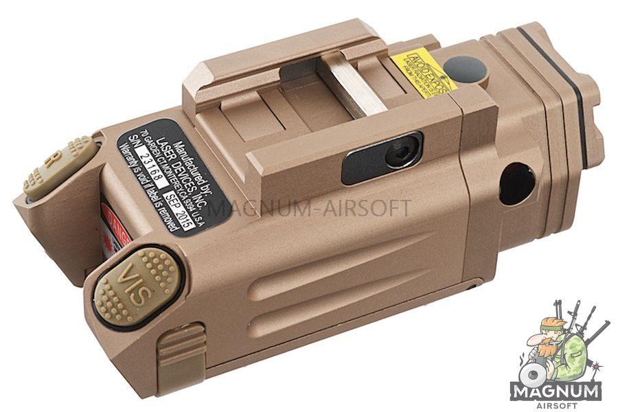 Blackcat Airsoft Tactical Flashlight for 20mm Rail - Tan