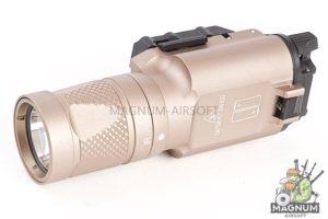 Blackcat Airsoft 300V Style Tactical Flashlight - Tan