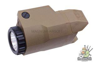 Blackcat Airsoft ALP Weapon Light (Short) - TAN