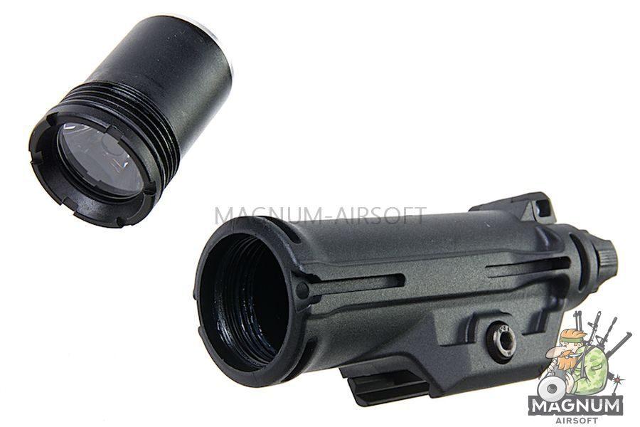 Blackcat Airsoft HX15 Tactical Flashlight - Black