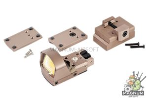 Blackcat Airsoft PD Style Red Dot Sight - Tan