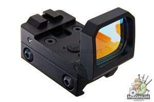 Blackcat Airsoft Folding Red Dot Sight - Black