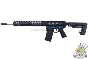 EMG F-1 Licensed 15 3G Skeletonized Complete Rifle (Black / Blue Switch / RS-2 Stock) (by APS)