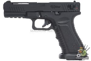 APS Black Hornet Semi / Auto GBB Pistol (Co2 Version)