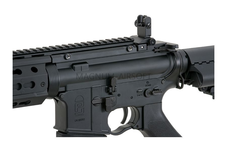 Автомат CYMA M4, металл, пластик, скл.прикл, ЗУ, АКБ - CM.079