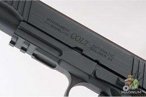 Cybergun Colt 1911 Rail CO2 GBB Pistol - Black