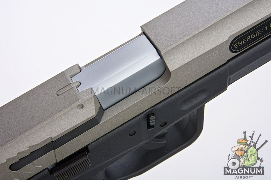 Cybergun TAURUS 24/7 Gen 2 Silver Co2 GBB (by KWC)